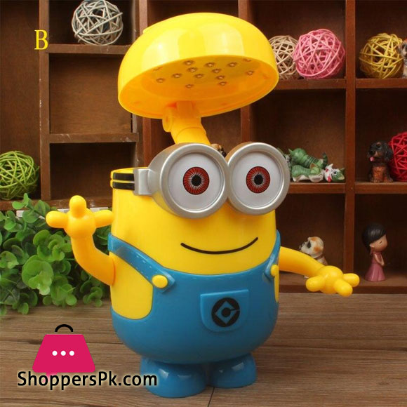 Minion Night Lamp for Kids LED Home Decor Amazing Gift