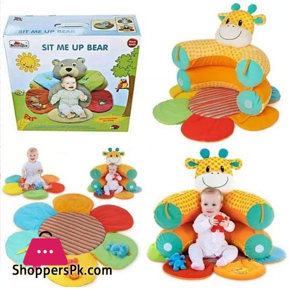 Sit Me Up Bear Play Mat - Multi (9960-63)