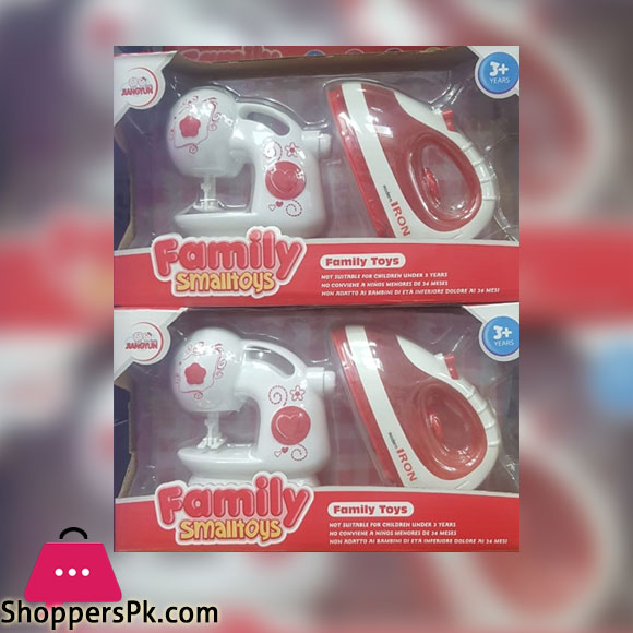 Family Small Toy sewing and iron toy