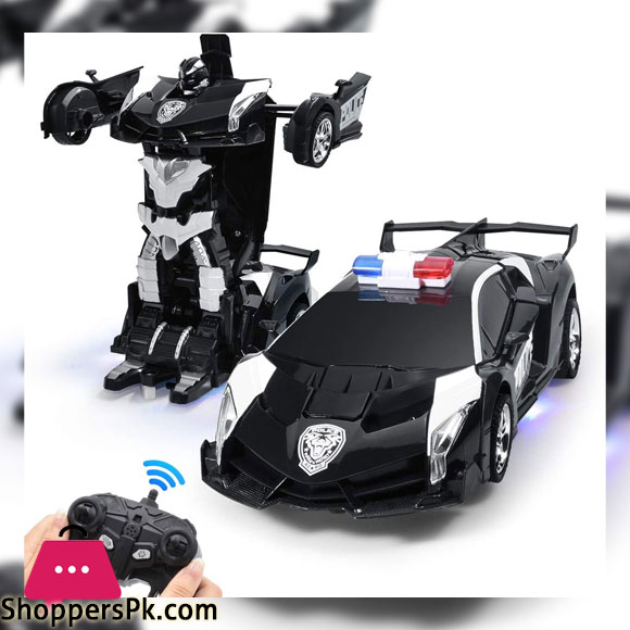 Transforming Police Robot Car For kids