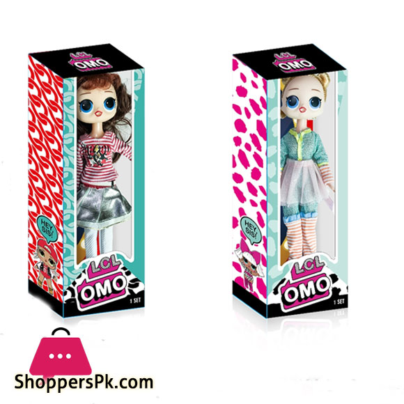 OMO Fashion doll for Kids Pack of 4