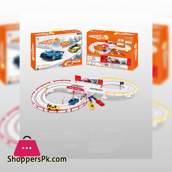 High Speed Track 3 Racing Toy