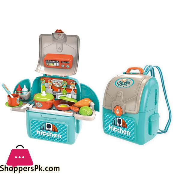 Chef Kitchen in a Backpack FOR KIDS