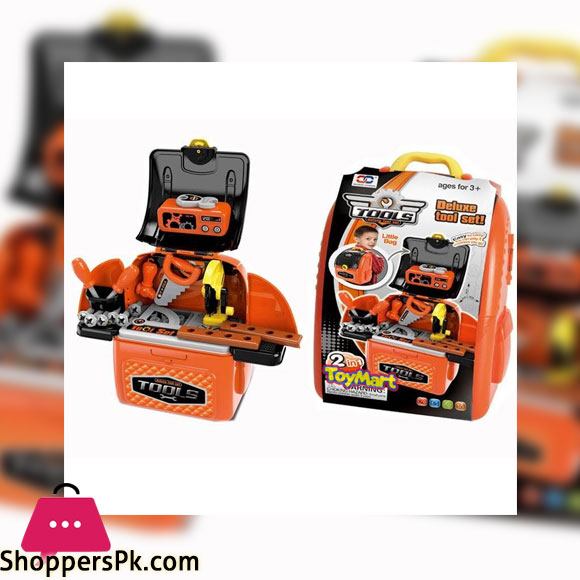 Construction Toy with Tool Box Kids