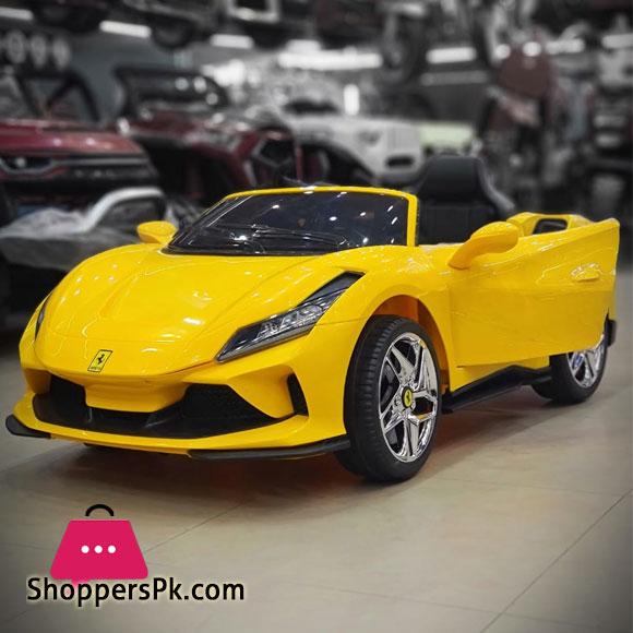 2021 Ferrari F8 Tributo Spider Kids Ride on Car 1 to 9 Years Kids