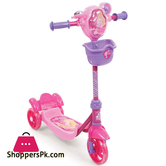 Barbie 3 Wheel Scooter / Scooty for 3 to 10 Years Kids