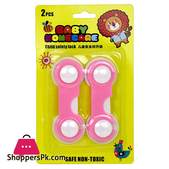 Multi-Purpose Baby Safety Lock Baby-Proof Locking Clasp Pack of 2