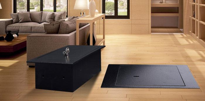 Safewell Fire Water Chest Mechanical Hidden Top Open Floor Safe Box – FS02