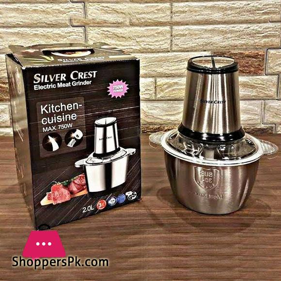 Silver Crest Electric Grinder Kitchen Cuisine 750W
