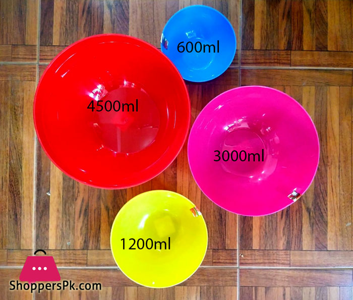 Appollo Colorful Premio Bowl 4 piece set (S - M - L - XL)