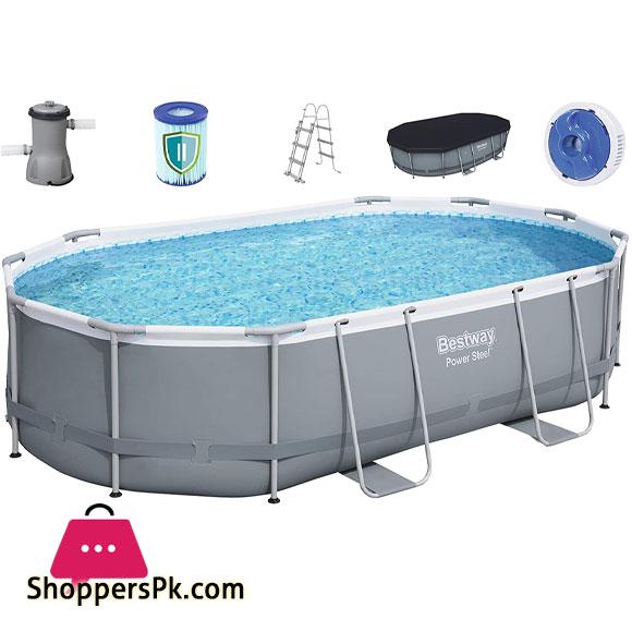 Bestway - Pond Oval Swimming Pool - 56448