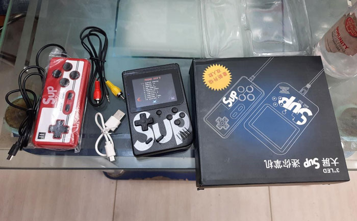 New Classic New Sup Video Game 400 In 1 With Remote Controller
