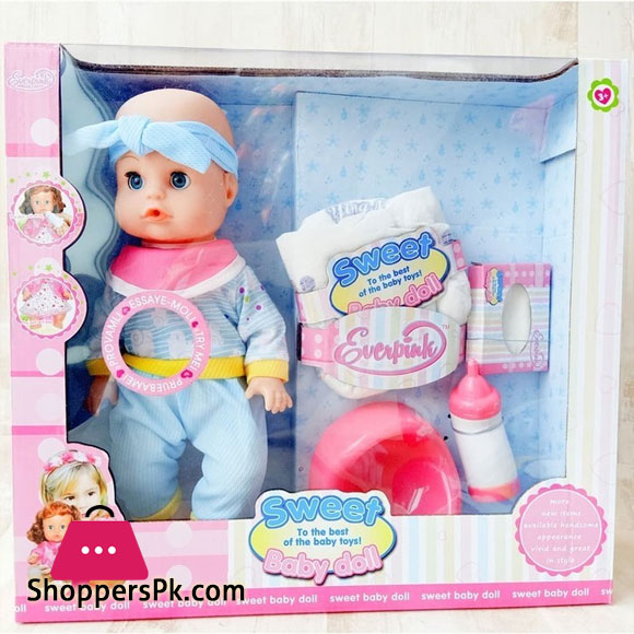 Sweet Baby Doll Pemper Baba & Baby Doll Toys Peeing Peeing - HX360-11