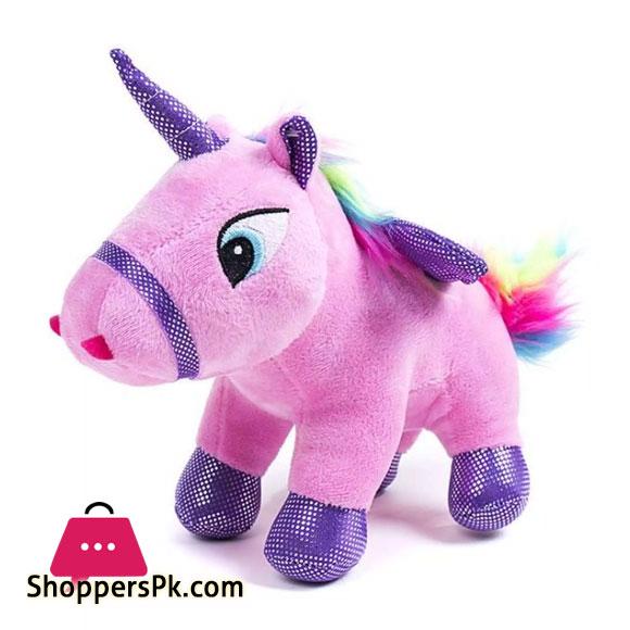 Cute Rainbow Unicorn Plush Toy Cartoon Angel Horse 20 CM 1 Pcs
