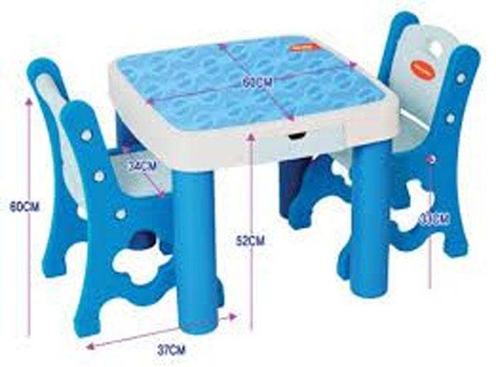 Edu Play GUGUDAN Table & Chair