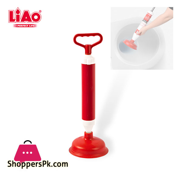LIAO Durable Manual Cost-Effective Kitchen Bathroom Sink Vacuum High Pressure Plunger H130005