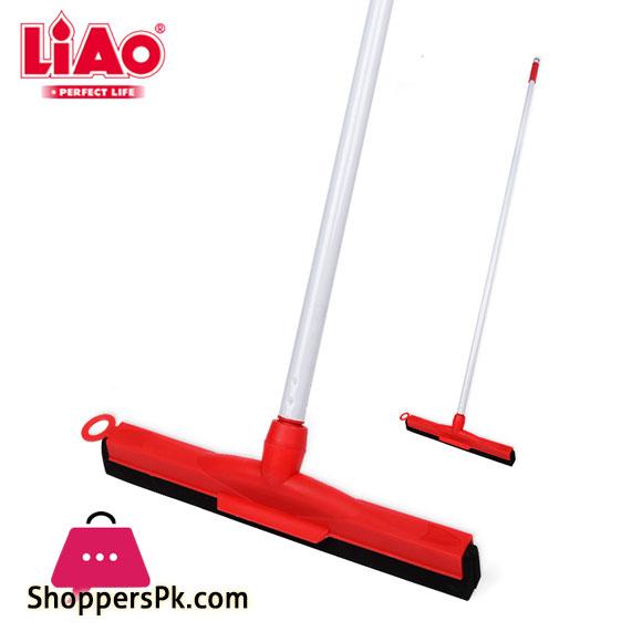 LIAO Floor Squeegee Heavy Duty Wiper 55cm Handle 130cm- K130024