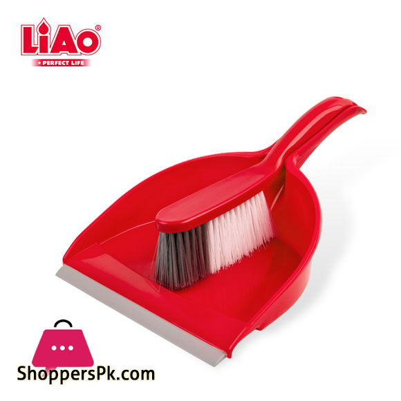 LIAO Hand Held Dustpan and Brush Set - C130011