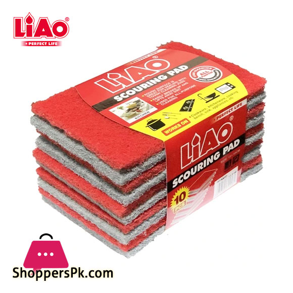 LIAO Scouring Pad (10 Pcs) H130031