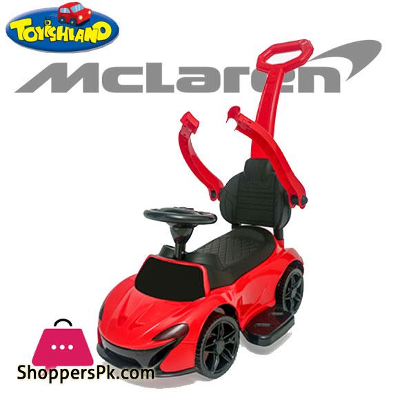 Mclaren 3 in 1 Push Car