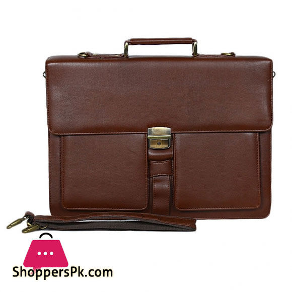 Office File Bag Leather Texure
