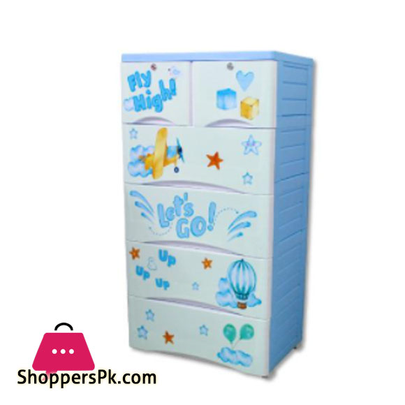 Plastic Drawers Cabinet Fly High Drawer 4+2