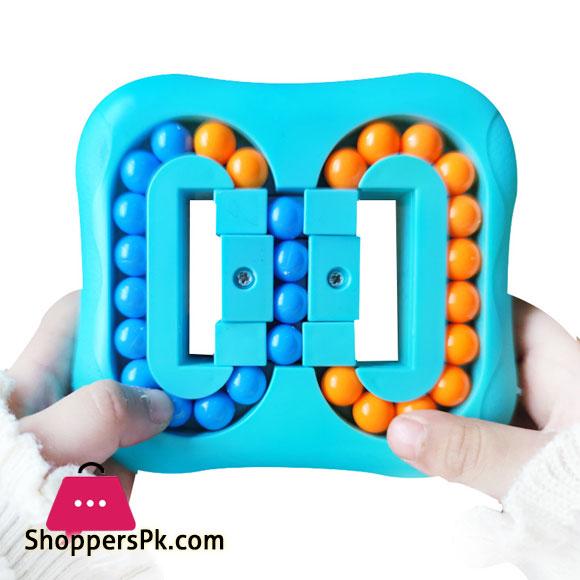 Puzzle Ball Magic Ball Creative Small Magic Bean Toy Cross-Border Rotating Ball Gyro Fingertip Tablet Cube