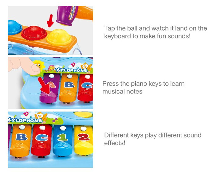 Pop n' Play Music Center | CXC Toys & Baby Stores