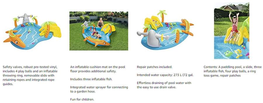 Bestway Sea Life Play Center Children Swimming Pool 2 to 8 Years Kids #53067