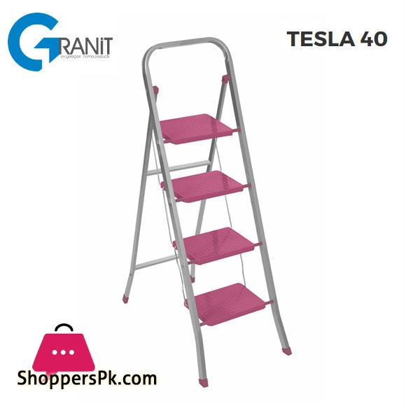 Granit Tesla 4 Step Ladder 2959 Turkey Made